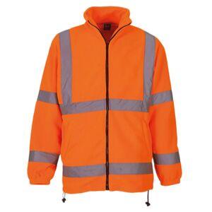 Yoko HVK08 Safety Hi Vis Visibilty Work Fleece JacketPremium Heavy Weight